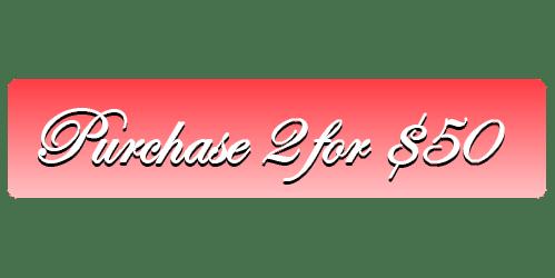 2 For 50 – Valentine's Menu button 1
