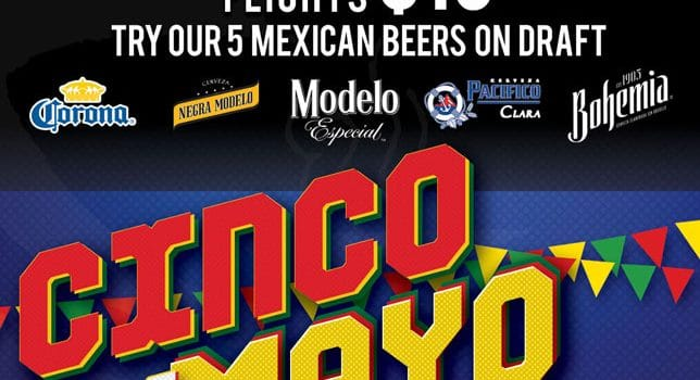 Cinco De Mayo cinco flyer 644x350