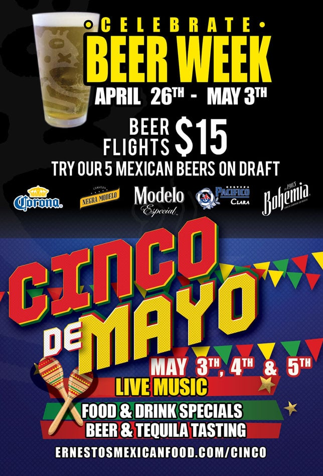 Cinco De Mayo cinco flyer